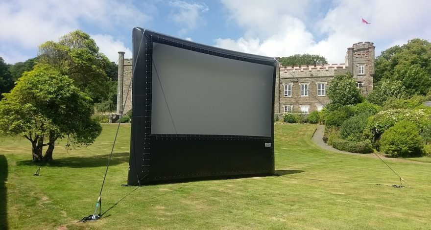 Outdoor Cinema in the Isle of Man